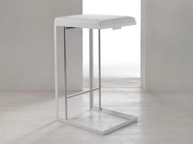 High steel barstool GRAY   High stool