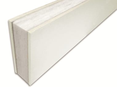 Polyester fibre sandwich panel / Sound insulation and sound absorbing panel for false ceiling Isolmant CG