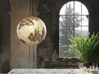 Fiberglass pendant lamp ULULÌ - ULULÀ | Pendant lamp