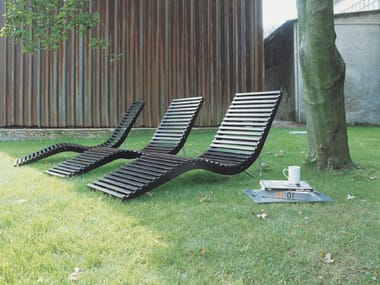 Birch garden daybed SLALOM OUTDOOR