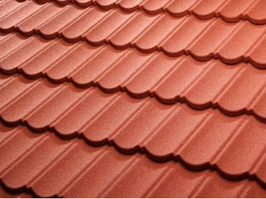 Steel roof tile DECRA