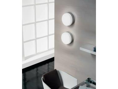 Blown glass wall lamp / ceiling lamp FLAN