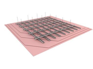 Fireproof plasterboard ceiling panels FMC 84/34 EI120 - FIBRANprofiles