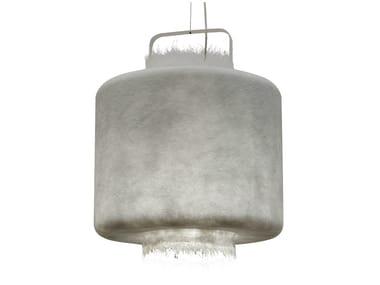 Fiberglass pendant lamp KIMONO | Pendant lamp