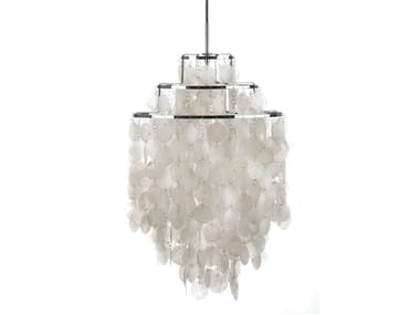 Direct-indirect light pendant lamp FUN 1DM