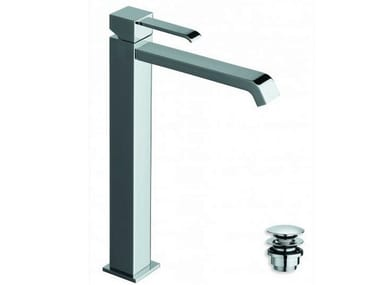 Countertop single handle washbasin mixer QUADRI | Washbasin mixer