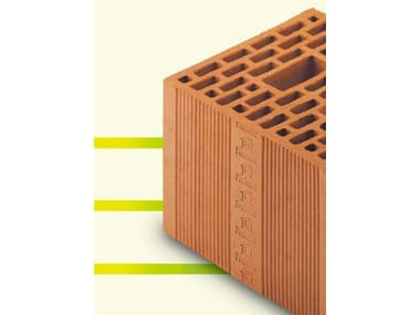 Thermal insulating clay block PERLATER® S - P