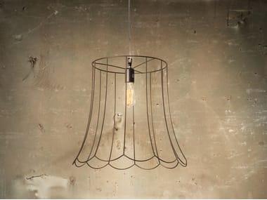 Lampada a sospensione in ferro LUCILLA | Lampada a sospensione