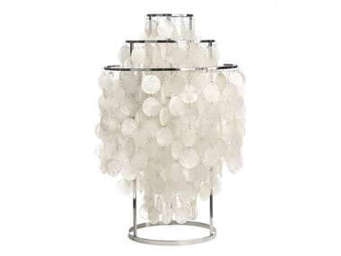 Design mother of pearl table lamp FUN 1TM