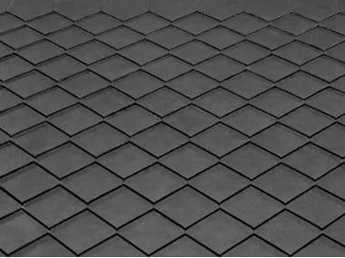 Ceramic Slate Roof Tile ARDESIA CERAMICA 25X40 PENTAX