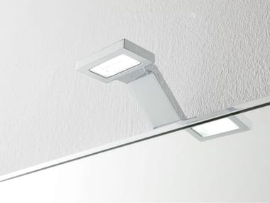 Lámpara de pared LED de metal cromado Aplique de baño