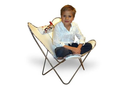 Sessel aus Leder HARDOY BUTTERFLY CHAIR KIDS