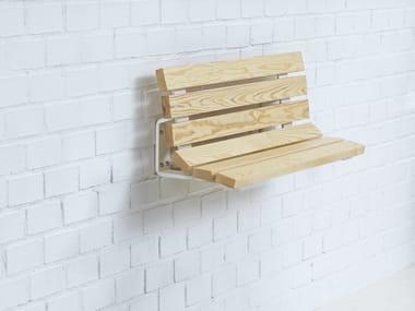 Wall-Mounted wooden Bench KAJEN MINI