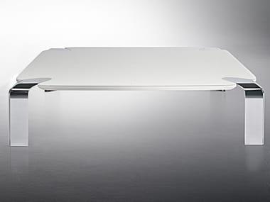 Rectangular crystal coffee table FLOW | Rectangular coffee table