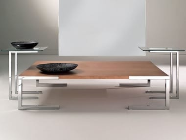 Square MDF coffee table TEMPURA | Coffee table