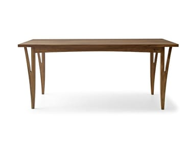 Rectangular solid wood table MORAAR | Rectangular table