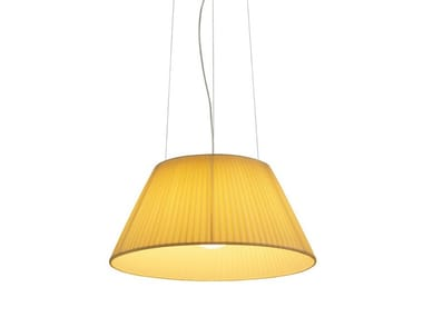 Fabric pendant lamp ROMEO SOFT S