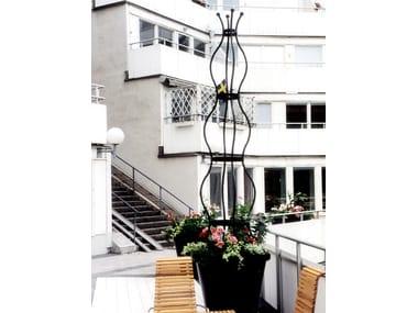 Self-supporting steel vertical gardening trellis SIRI