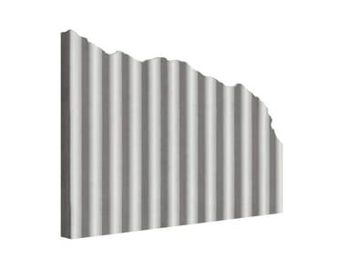 Matrix for fair faced concrete wall MANO© ONDULATO