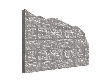 Matrix for fair faced concrete wall MANO© BLOCKSTONE