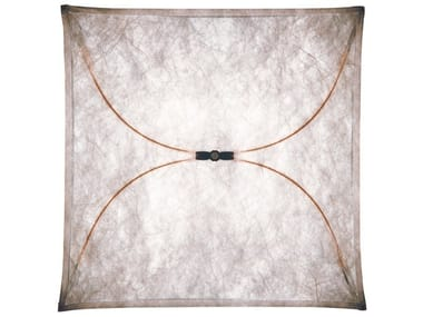 Synthetic fabric wall lamp ARIETTE