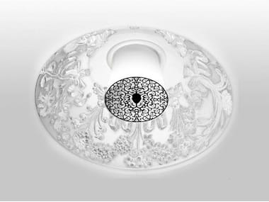 Direct light recessed plaster ceiling lamp SKYGARDEN RECESSED