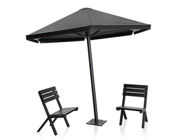 Steel Garden umbrella FOUR SEASONS