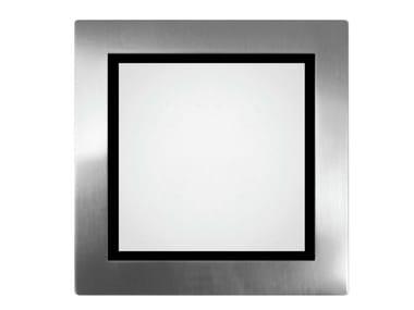 Segnapasso a LED in acciaio inox ALZIR C