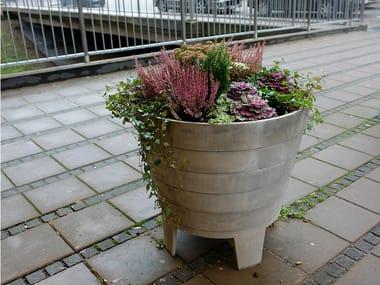 Aluminium Flower pot MAGNOLIA