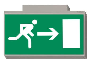 Emergency light / sign LISU | Indoor sign