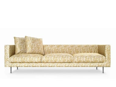 Coated foam sofa BOUTIQUE JESTER | 4 seater sofa