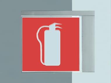 Luce di emergenza / cartello segnalatore VIR | Cartello segnalatore