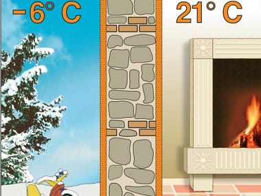 Thermal insulating plaster Intonaca & Coibenta®