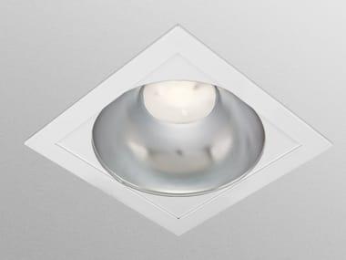 Lampada da soffitto a LED a luce diretta a incasso SQUARE