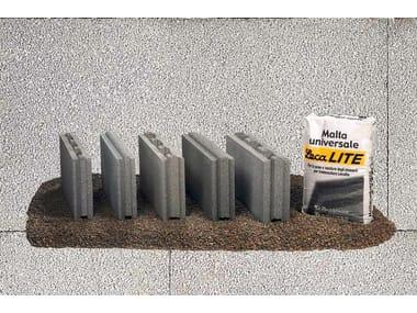 Lightweight concrete block for internal partition LECABLOCCO TRAMEZZA LECALITE
