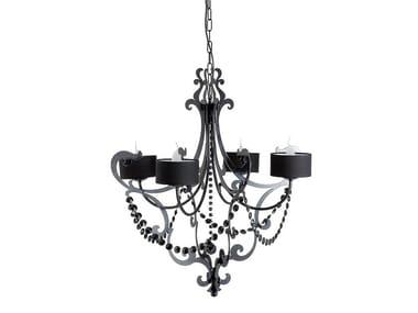 Steel chandelier IAGO | Chandelier