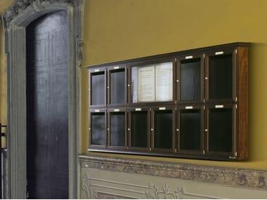 Wooden mailbox FLAT