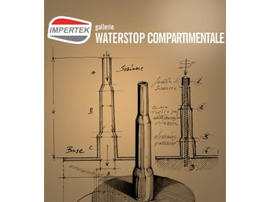 Compartimentation Waterstop Outdoor laying waterstop
