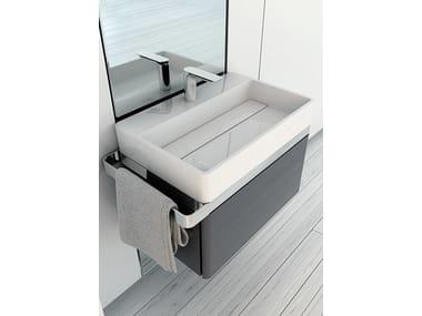 Mueble bajo lavabo simple STRUCTURE | Mueble bajo lavabo
