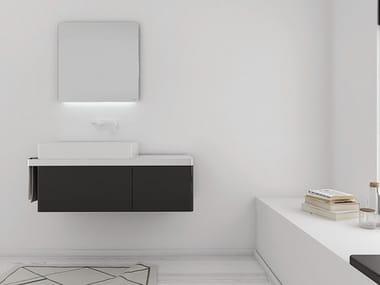 Mueble bajo lavabo lacado STRUCTURE | Mueble bajo lavabo