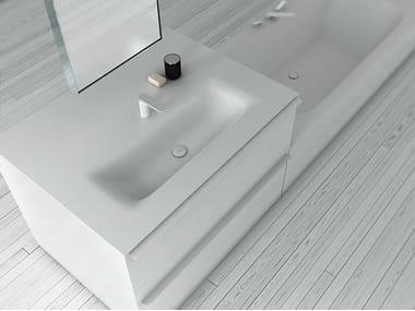 Lavabo de Corian® KA | Lavabo rectangular