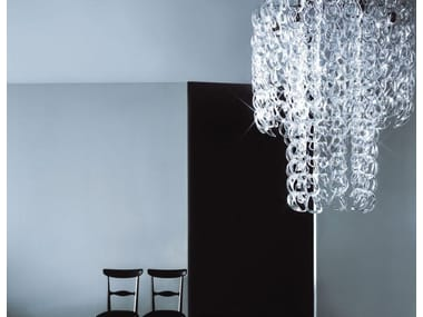 Crystal chandelier P-LIGHT
