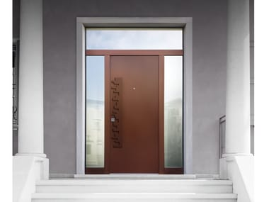 Gentil Glazed Corten™ Safety Door ELITE   16.5090 M60Vip
