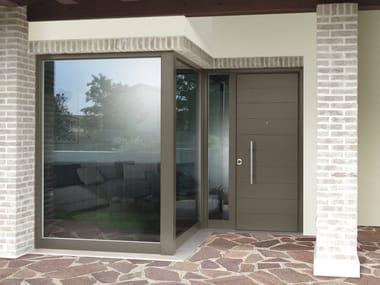 Portoni D Ingresso E Porte Da Garage In Legno E Vetro Archiproducts