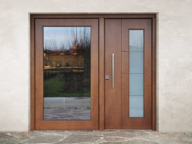 Porte e portoni d\'ingresso in legno e vetro | Archiproducts