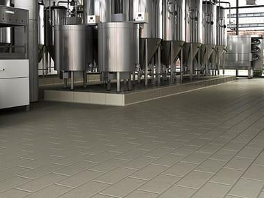Pavimento industrial de gres porcelánico PROYECT GRIS