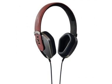 Aluminium Headphones PRYMA 01 SPECIAL CARBON MARSALA