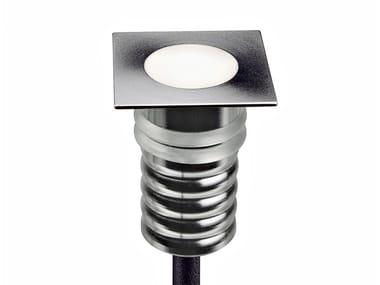 Segnapasso a LED in acciaio inox per esterni PUNTO Q