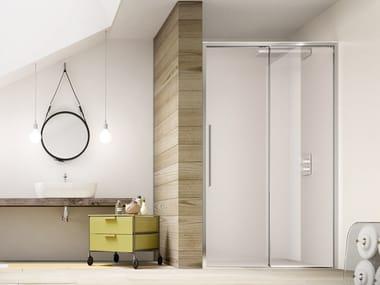 Niche shower cabin with sliding door PURO SC1