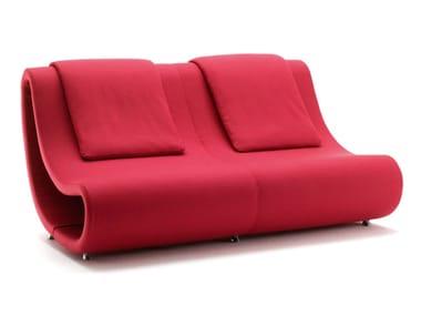 2 seater fabric sofa PUSH-OUT | Sofa